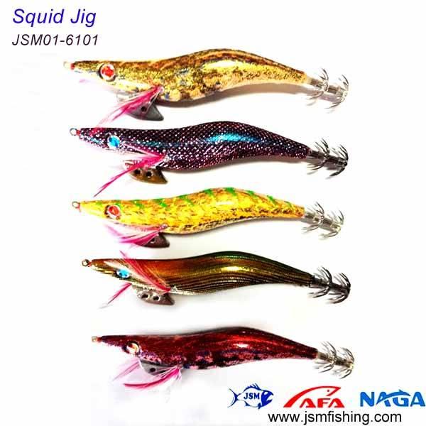 new coming plastic fishing squid jig
