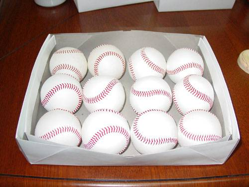 85% Gray Wool Winding Game Baseball/PRO Premium Baseball/PROMOTION BASEBALL COWHIDE BASEBALL..