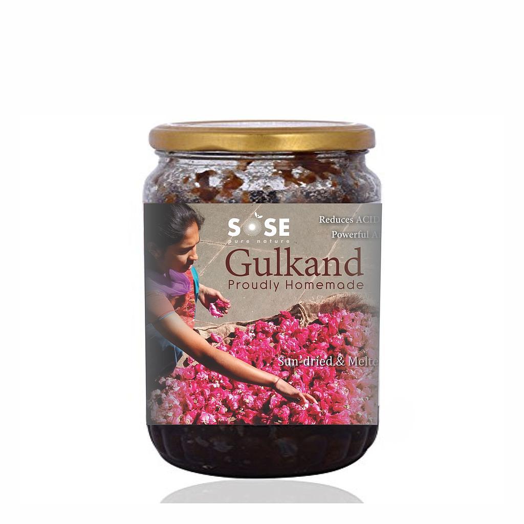SO GOOD Organic Gulkand 200 gm