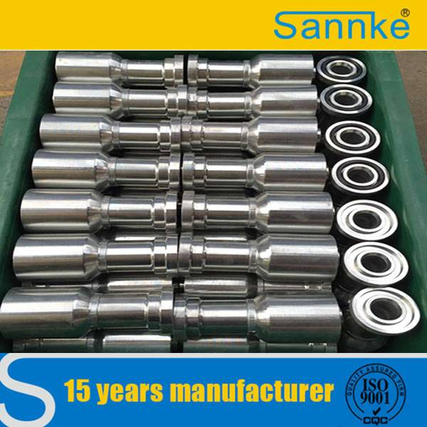 Carbon Stee BSP Female One Piece Hydraulic Hose Fitting