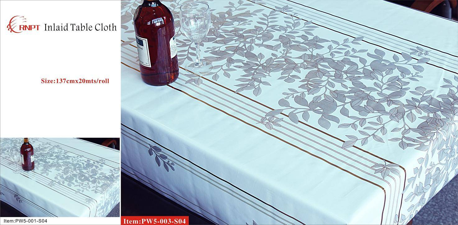 Inlaid Table Cloth