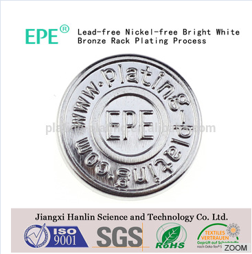 61247 lead-free nickel-free white bronze tin alloy rack plating