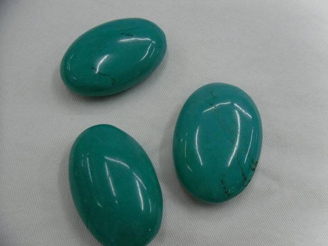 charming turquoise beads\egg shape