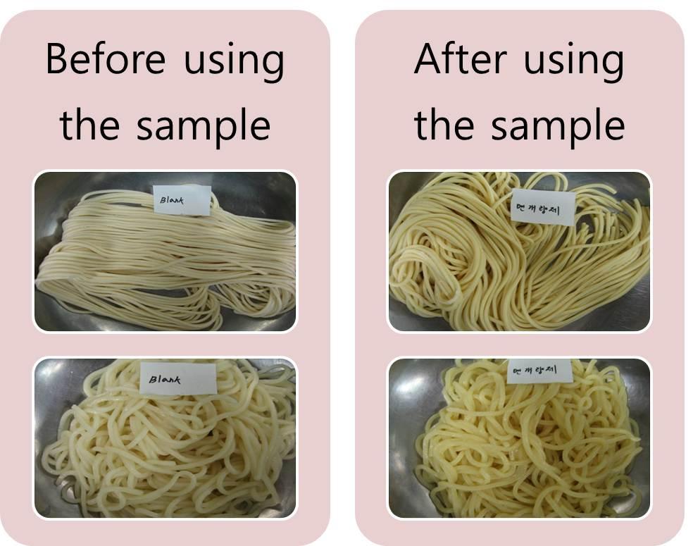 Alkali Additives for Noodles