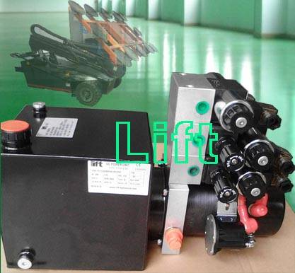 Double action Hydraulic power unit
