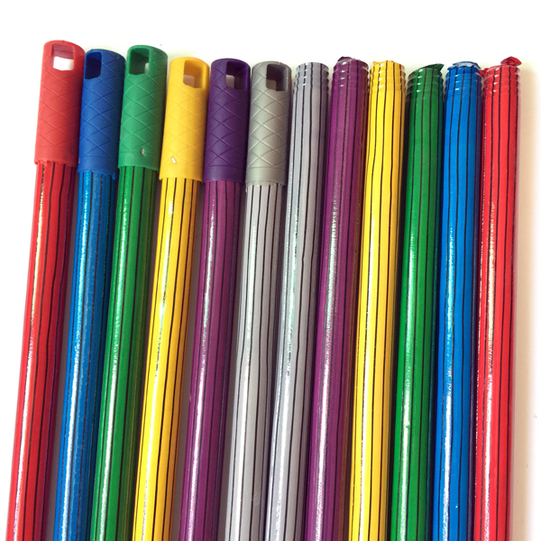 Hot Sale PVC Coated Wooden Broomsticks