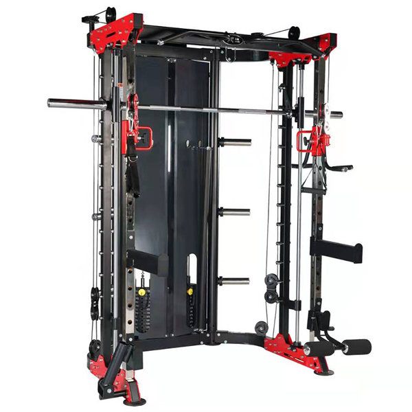 Multi Functional Trainer Smith Machine Full Commercial Exercise Gym Equipment