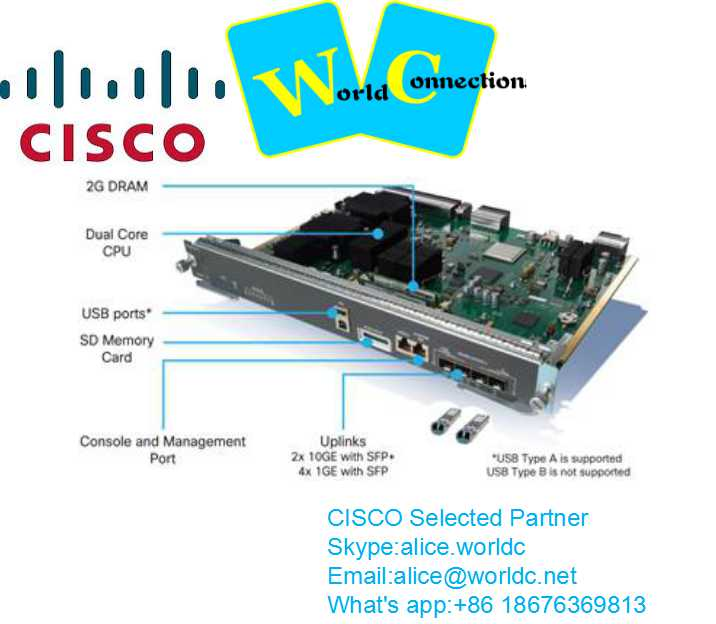 new sealed cisco switch WS-X45-SUP7L-E