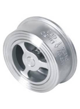 Single plate wafer check valve