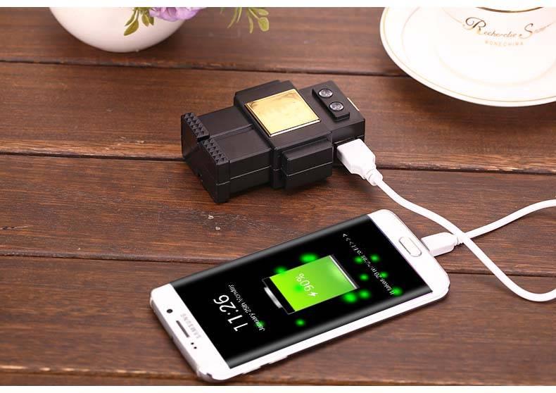 patent design portable robot  power bank