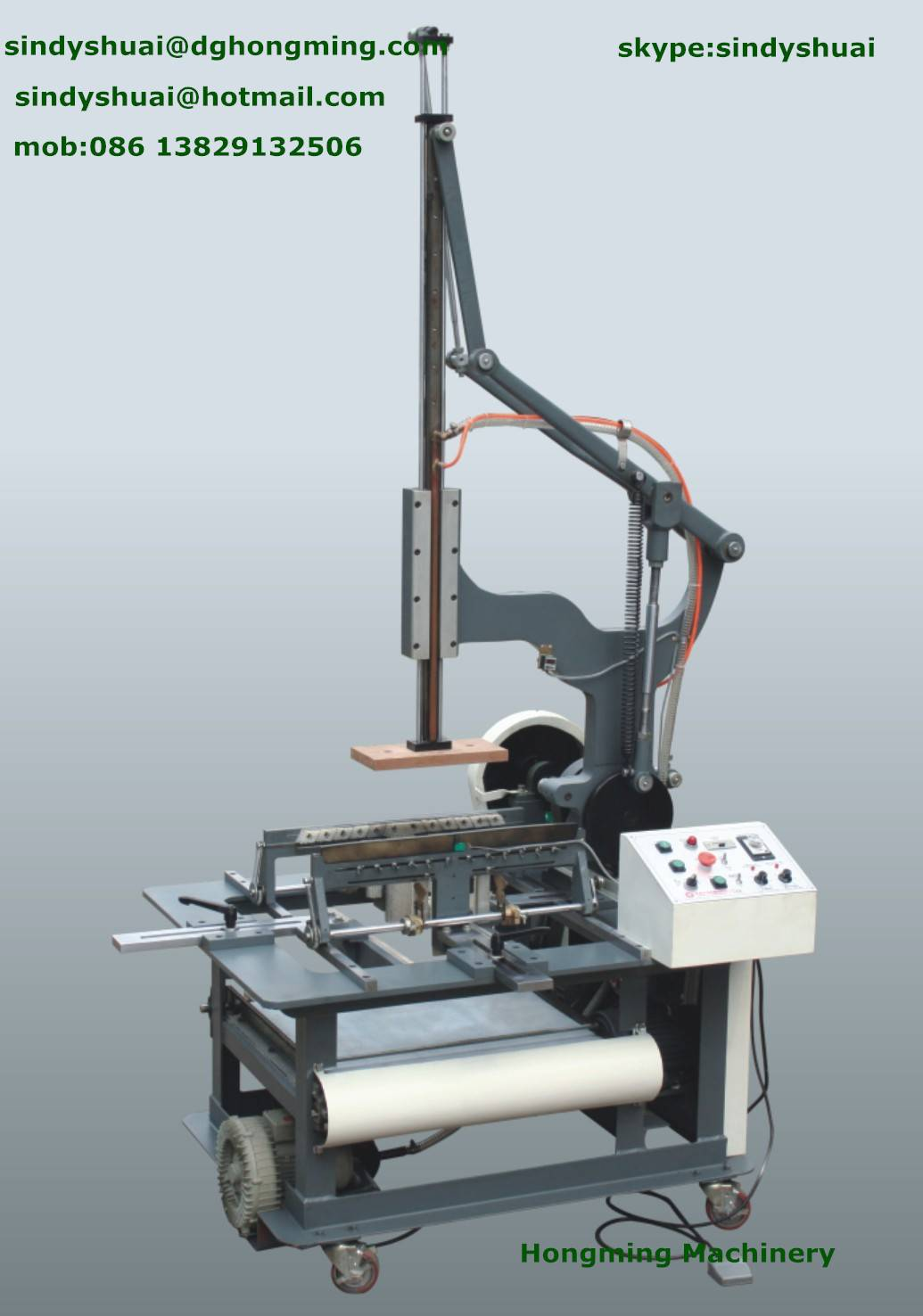 HM-500 Rigid Box Wrapping machine