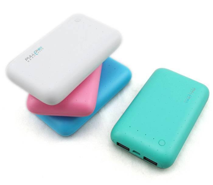 PULLER POWER BANK real 6000mAh dual USB power bank portable charger