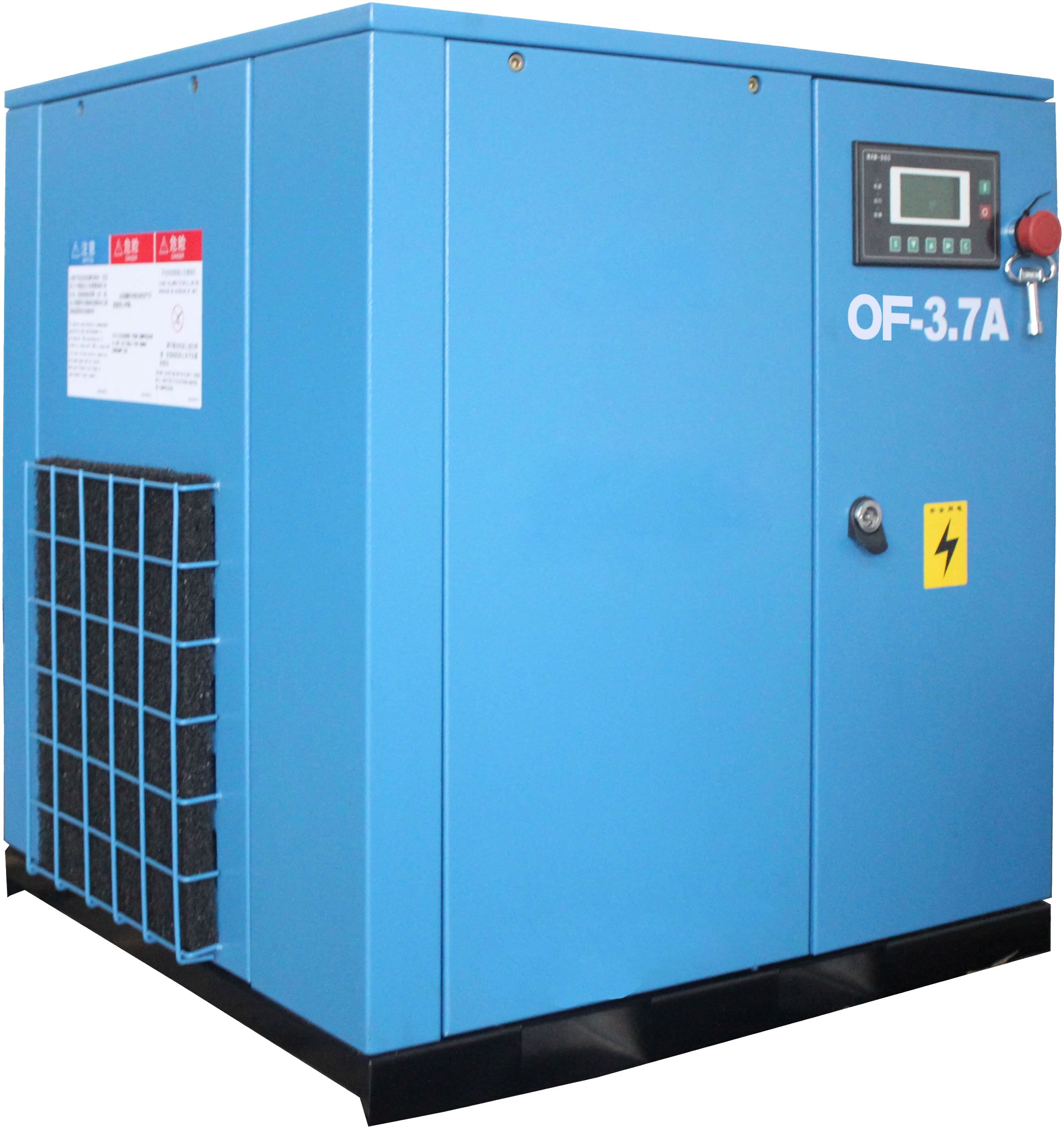 AC Power Oil Free Scroll Air Compressor 2.2kw-7.5kw