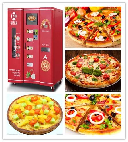 how pizza vending machine works