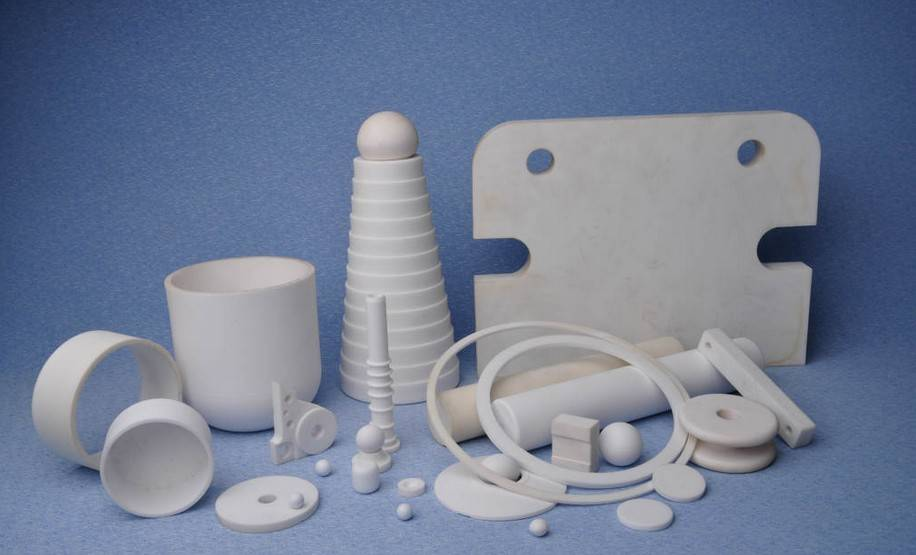 Bagian industri keramik alumina Bagian-bagian mesin keramik alumina