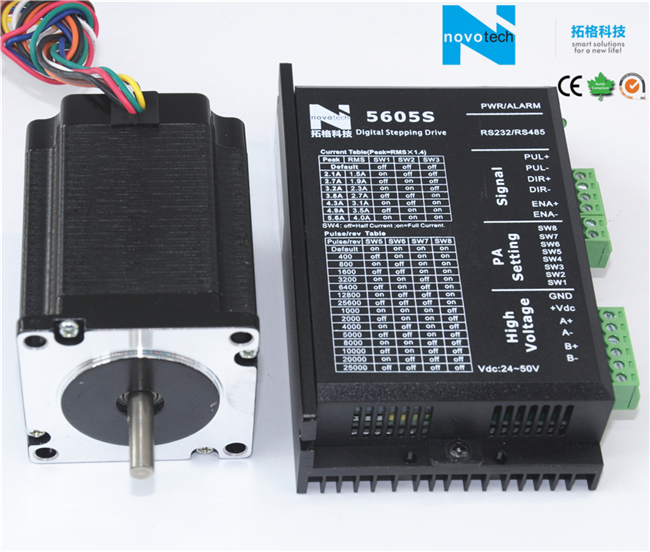NEMA 23 Cheap Stepper Motor for CNC Engraving Machine