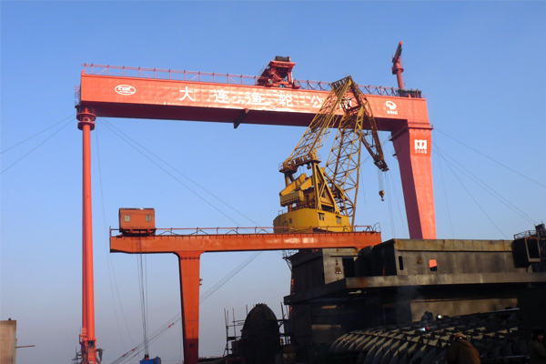 Gantry Crane for Shipyard
