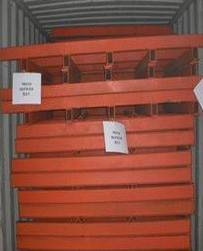 Mould for eps and cement sandwich wall panels