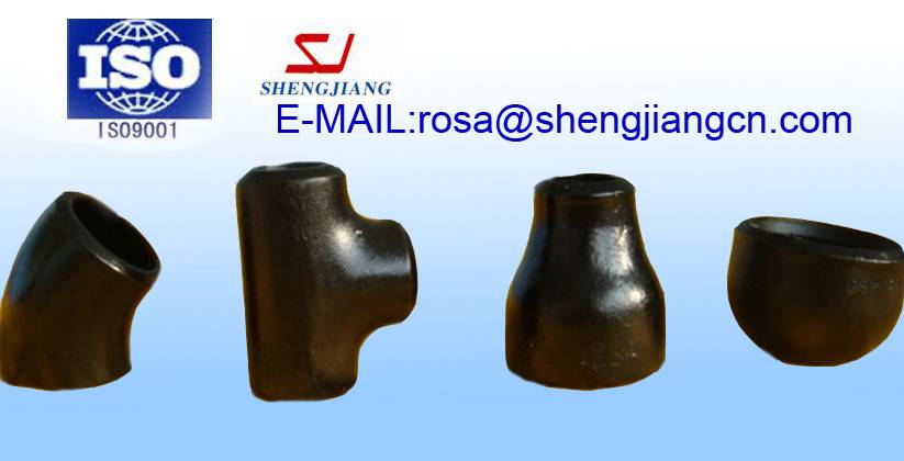 Pipe fitting Elbows Tee Crosses Caps Eccentric Reducers Caps Stub Ends Barred Tee