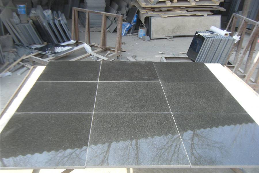 China black granite slab&tile