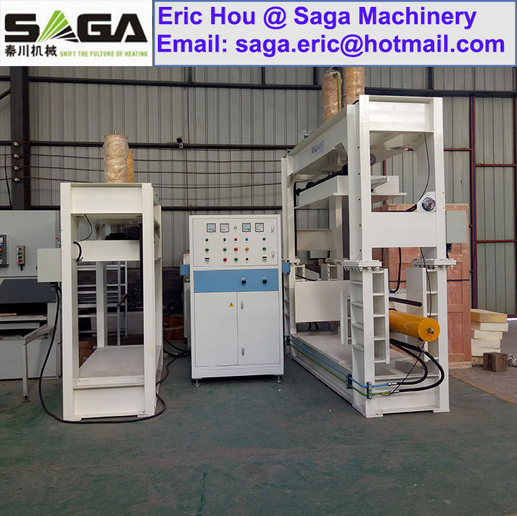Three-Direction High Frequency Wood Bending Machine Curved Plywood Press for Chair