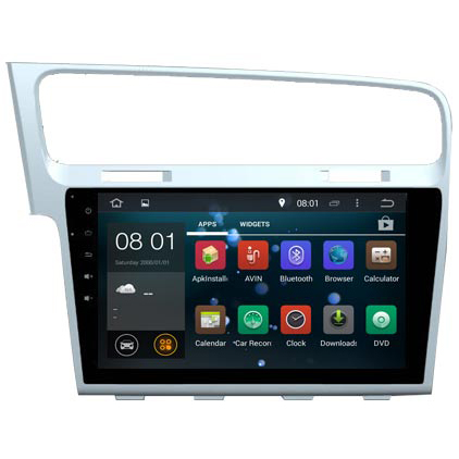 10.2 inch Android car dvd for VW GOLF 7