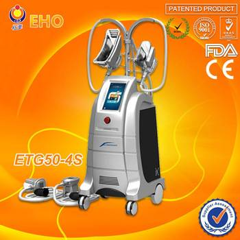 ETG50-4S Fat freezing portable cryolipolysis machine cold LED vacuum RF