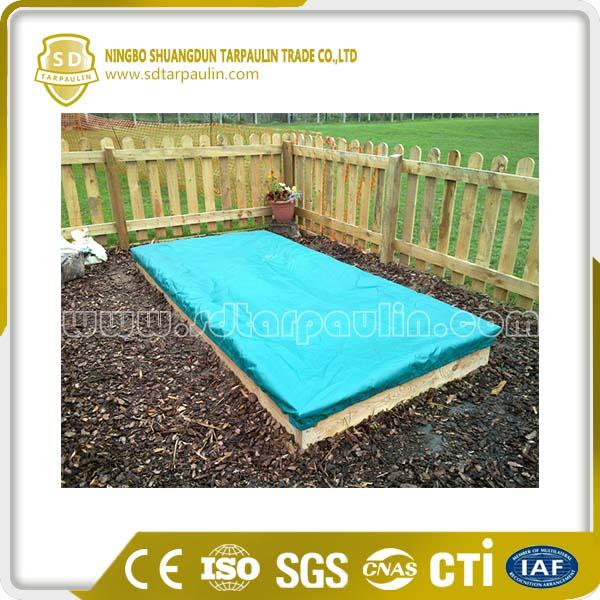 Waterproof PVC Sandpit Cover Tarp