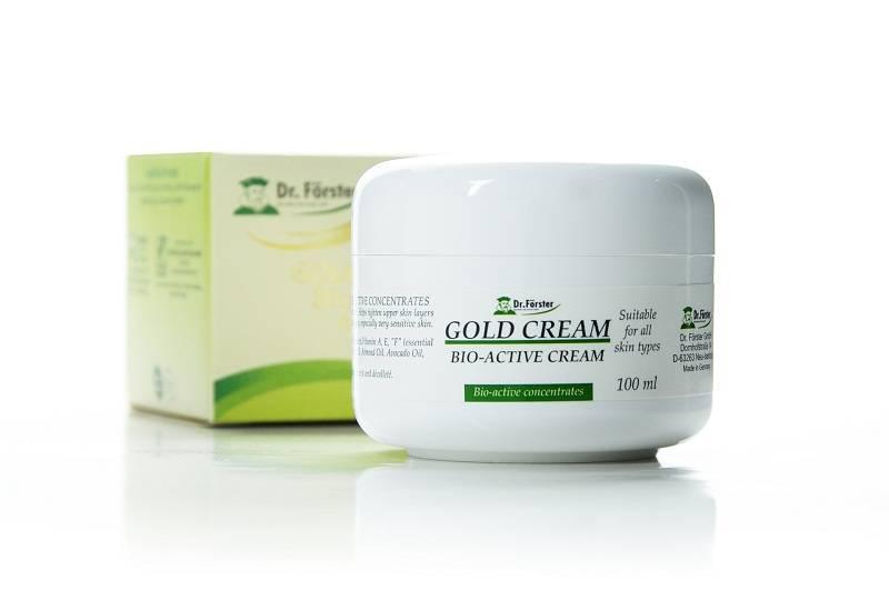 Dr. Forster GOLD CREAM - Bio Active Cream 100ml