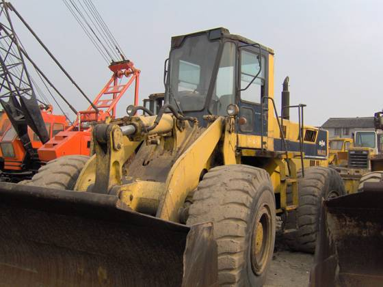 Used Wheel Loader ,Komatsu,Caterpillar loader