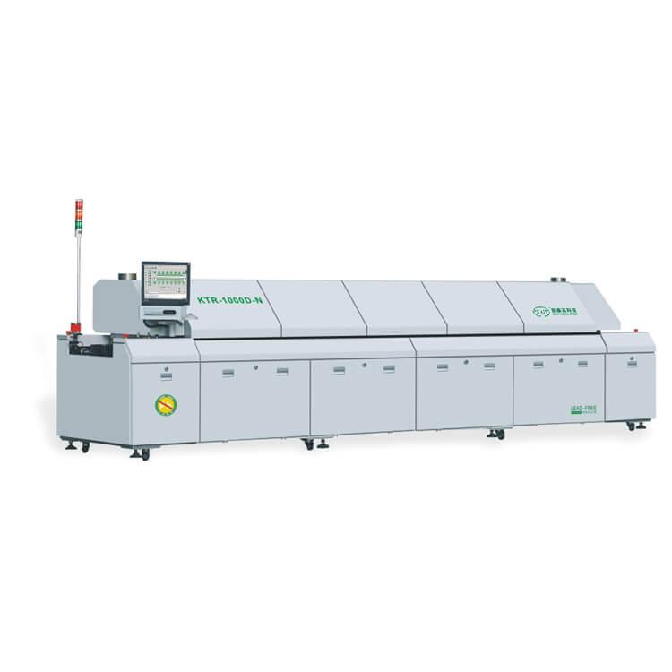 Dual Rail Nitrogen SMT Reflow Oven KTR-1200D-N