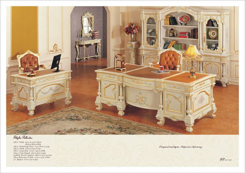 Luxury French Home Office Furniture