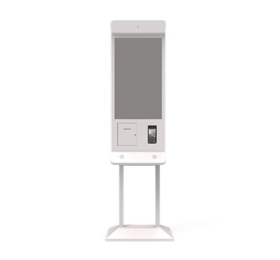 21.5 inch Floor-standing digital signage menu ordering kiosk