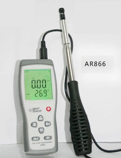 Smart Sensor Hot Film Anemometer AR866