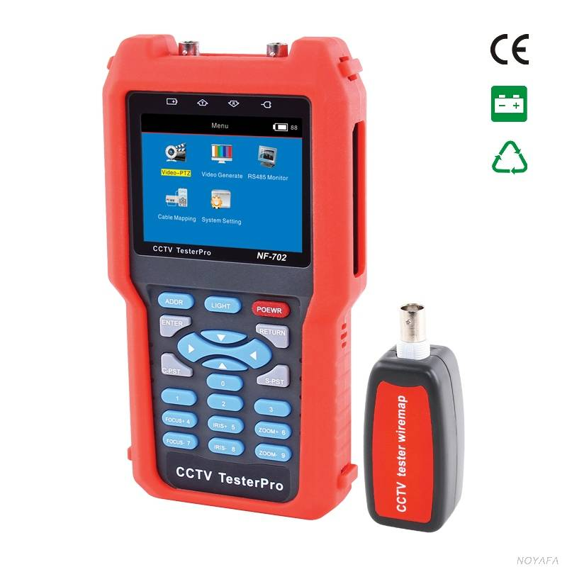 CCTV tester NF-702 & cable tester