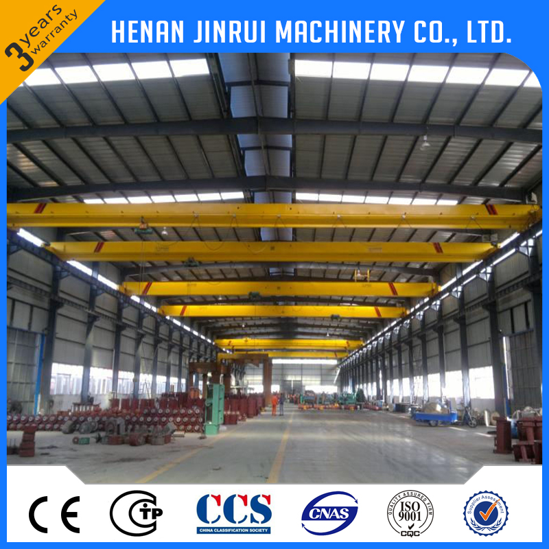 Factory Electric Hoist Remote Control Overhead Shop Crane Specification