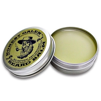 Honest Amish Beard Balm Leave-in Conditioner -