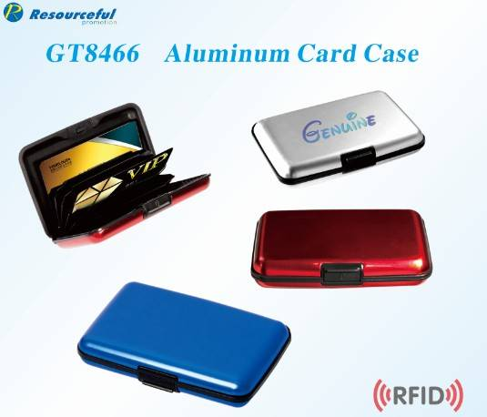 Pocket blocks RFID /water proof Aluminum ID Credit Card Case Wallet Holder Metal Box Multi color