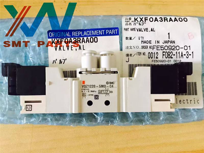 Panasonic SMT machine spare parts CM402/602 valve KXF0A3RAA00