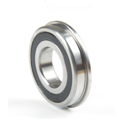 F6200-2RS Flanged Deep Groove Ball Bearing with Good Quality