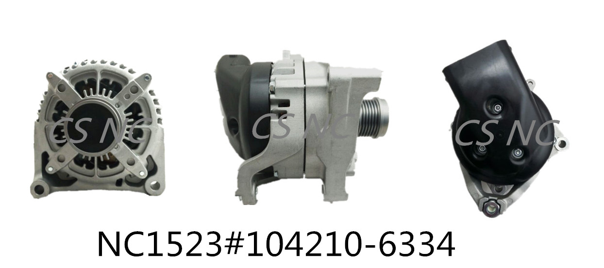 Denso Alternators NC1523 (12V 210A 104210-6334)