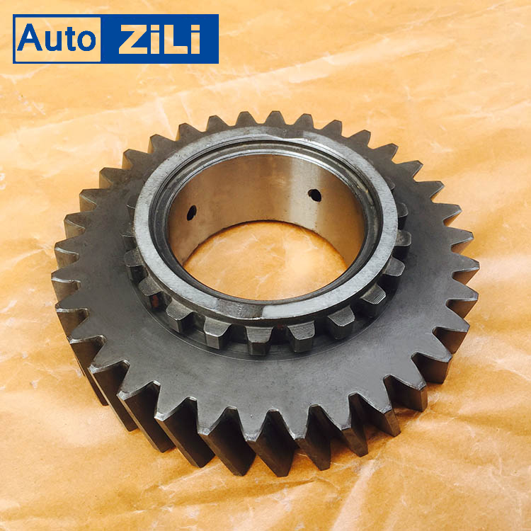 108304030 China bus parts gearbox parts main output shaft 3rd gear for QJ805 Gearbox