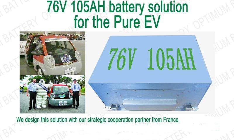Wholesale 72v 105ah lithium ion electric vehicle battery