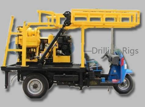 High Quality Trailer Mounted XYC-200 Core Drilling Machine