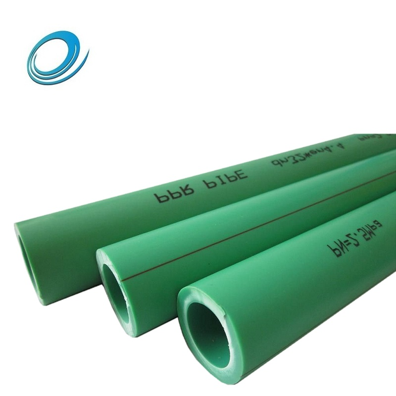 Plastic pp-r hot water pipe heating pipe for home use