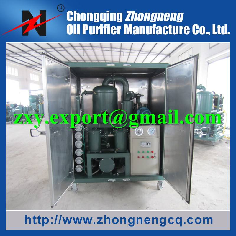 2016 Transformer Oil Dehydration System, 3000LPH Insulation Oil Purifier