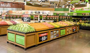 Produce Display Bins, Wooden Fruit And Veg Display Units