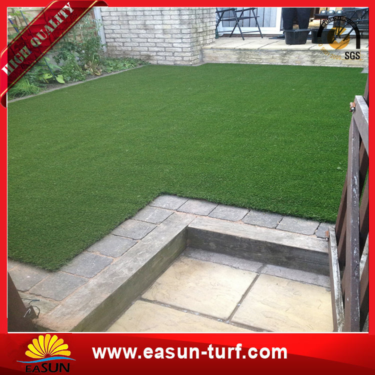 Cheap Price 40mm Landscaping Artificial Grass For Garden-Donut