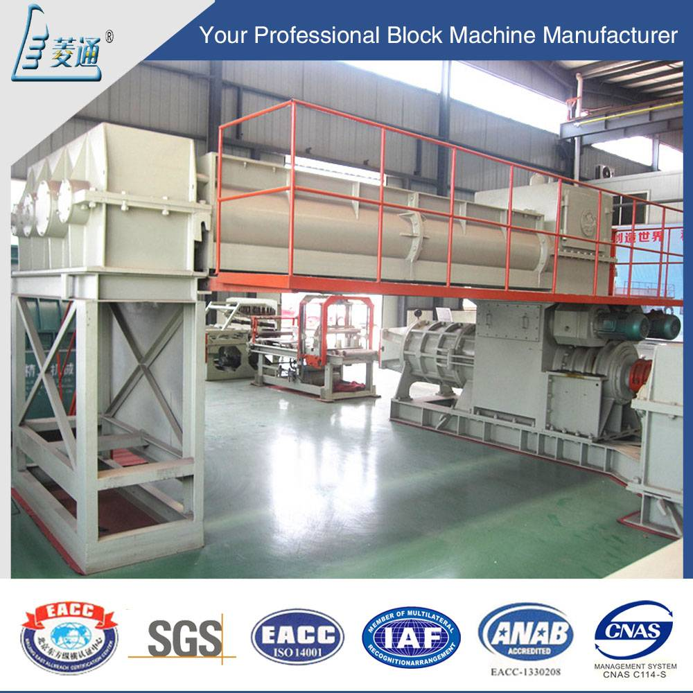 Fully AutomaticAutomatic Red Burning Brick Production Line Shale Earth Clay Brick Machine