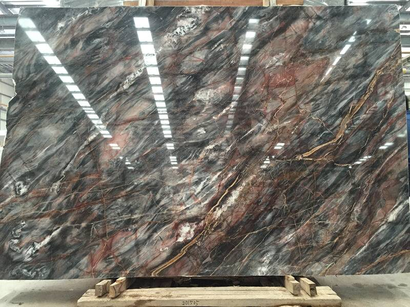 chinese grey color marble slabs - louis grey